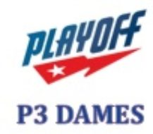 Play-Off – P3 Dames 2017-2018